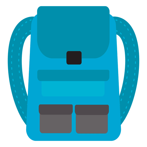 Backpack travel icon png