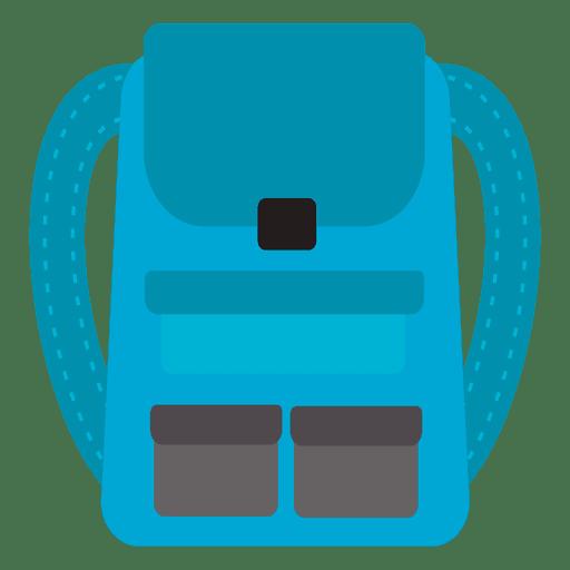 Ícone de mochila de viagem Transparent PNG
