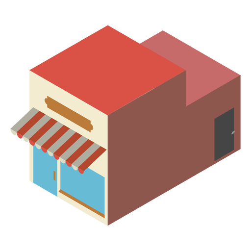 Bakery isometric icon Transparent PNG