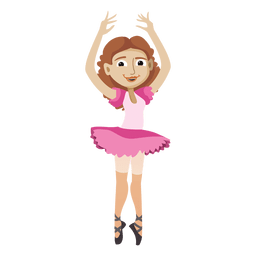 Ballet dancer cartoon