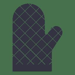 Grillfeuer flach Symbol