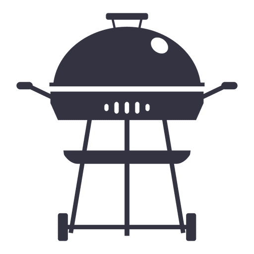 Icono de barbacoa plana Transparent PNG
