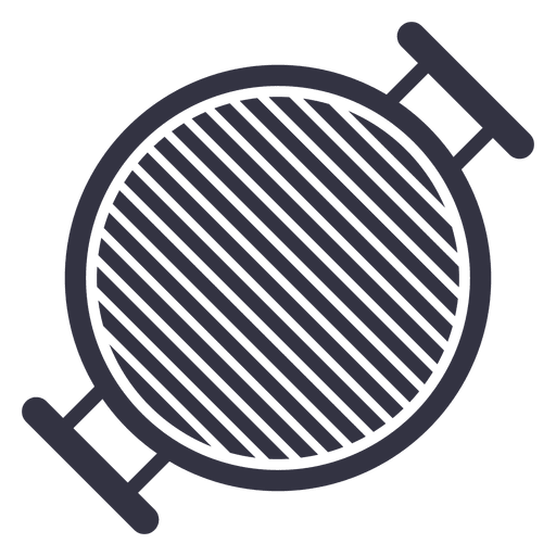 Barbecue stove flat icon Transparent PNG