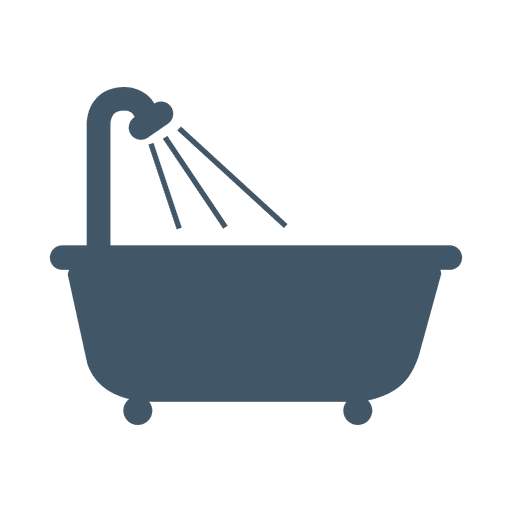 Bath tub real estate icon Transparent PNG