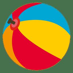 Ícone de bola de praia