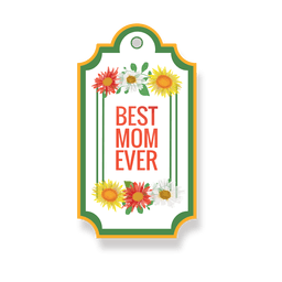 Best mom badge