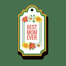 La mejor insignia de mamá
