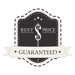 Best price guaranteed label