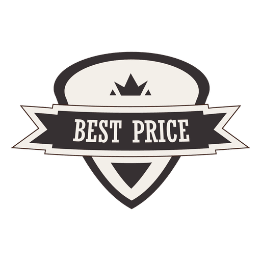 Best price retro tag Transparent PNG