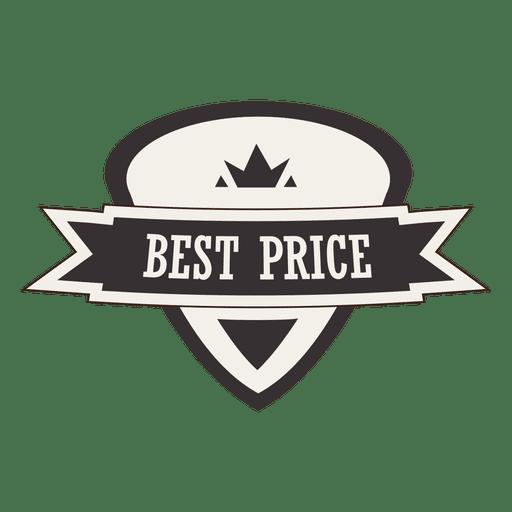 Mejor precio etiqueta retro Transparent PNG