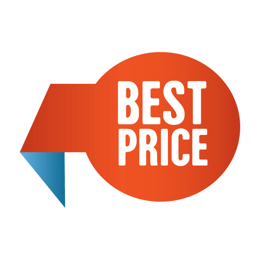 Best price sale tag Transparent PNG