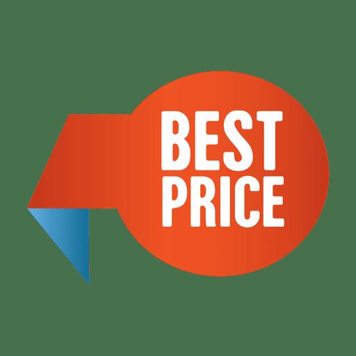 Etiqueta de mejor precio venta Transparent PNG