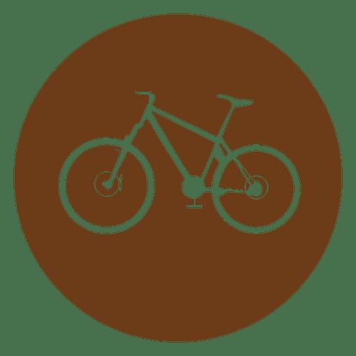 Bicycle circle icon Transparent PNG