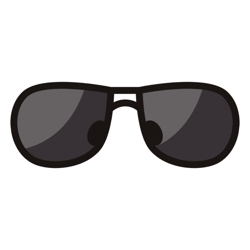 Black sunglass icon Transparent PNG
