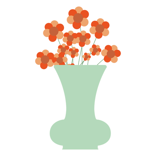 Blue flower tub icon Transparent PNG