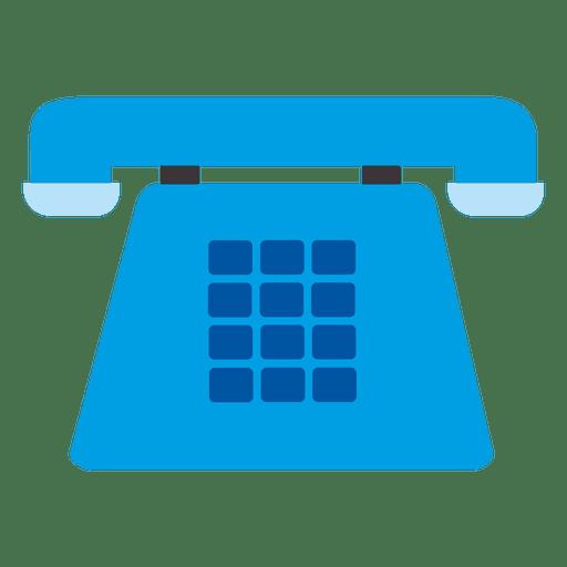 Icono de telefono azul Transparent PNG