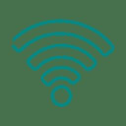 Línea wifi azul icon2.svg