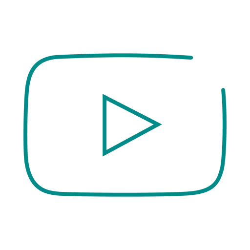 Blue youtube line icon.svg
