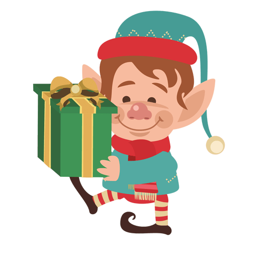 Boy on santa costume Transparent PNG