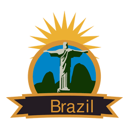 Brazil olympic label