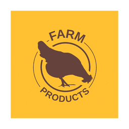 Brown chicken label.svg