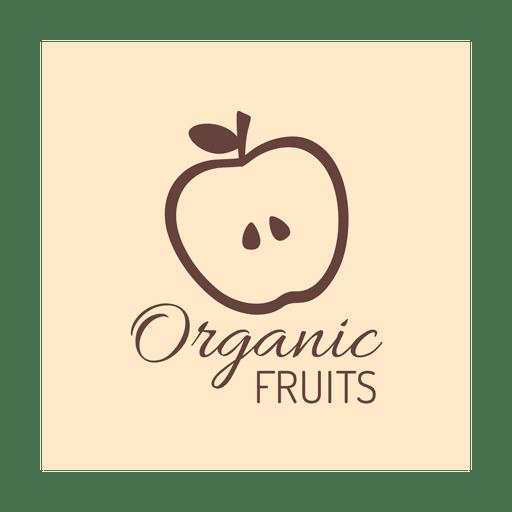 Brown organic fruit.svg Transparent PNG