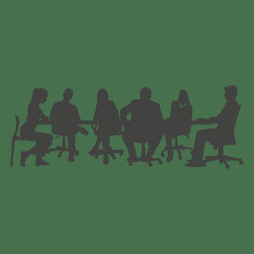 Reunião de equipe de pessoas de negócios Transparent PNG
