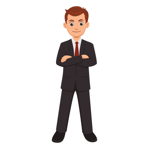 Desenho de profissão de empresário