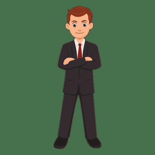 Desenhos animados profissão empresário baixar png svg