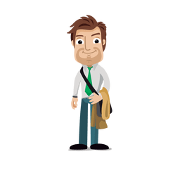 Businessman profession cartoon.svg