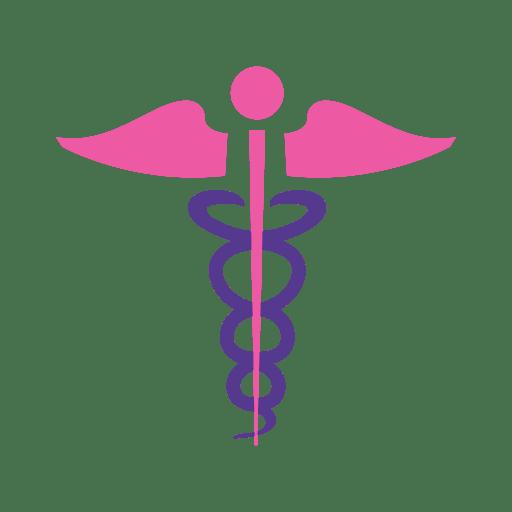 Caduceus medical sign