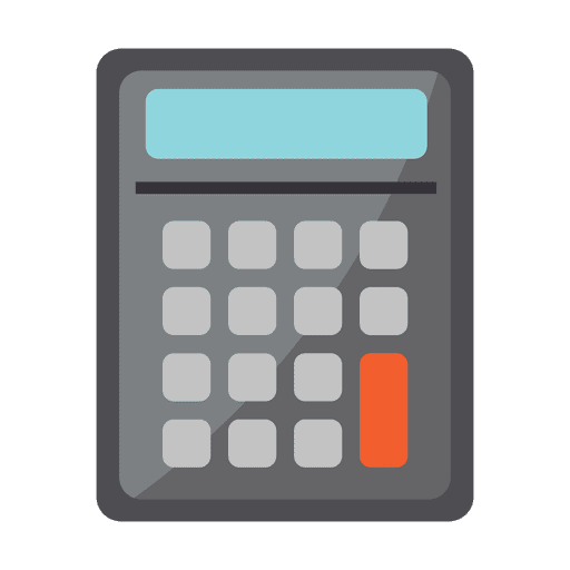 Calculator stationary icon Transparent PNG