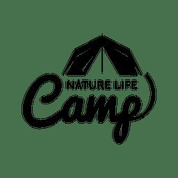 etiqueta de la tienda del campo viajes