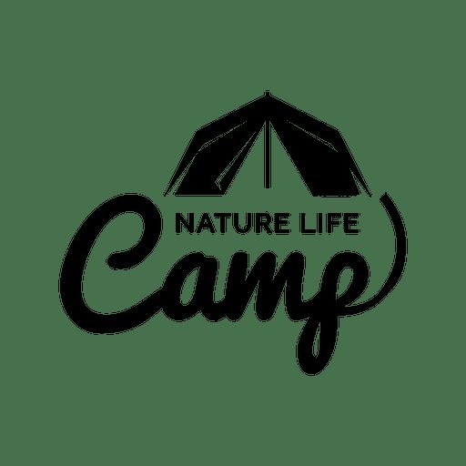 Etiqueta de viaje tienda de campaña Transparent PNG