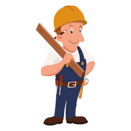 Carpenter cartoon profession