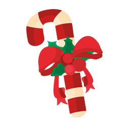 Christmas candy cane ribbon