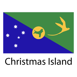 Weihnachtsinsel Nationalflagge