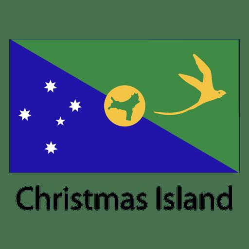 Bandeira nacional da ilha natal Transparent PNG