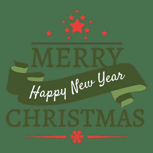 Navidad año nuevo insignia hoiday Transparent PNG