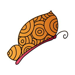 Dekorativer Schmetterling des Kreismusters