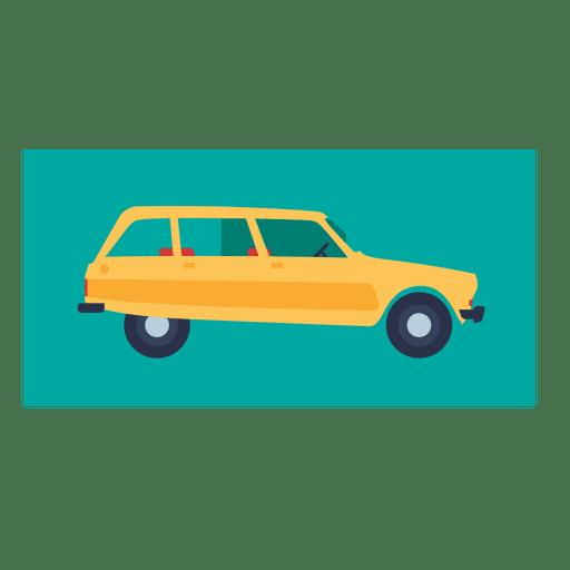 Citroen ami 8 yellow car