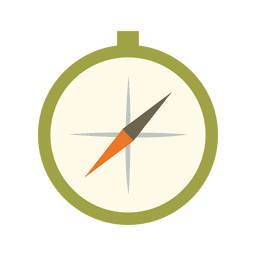 Compass travel kit icon