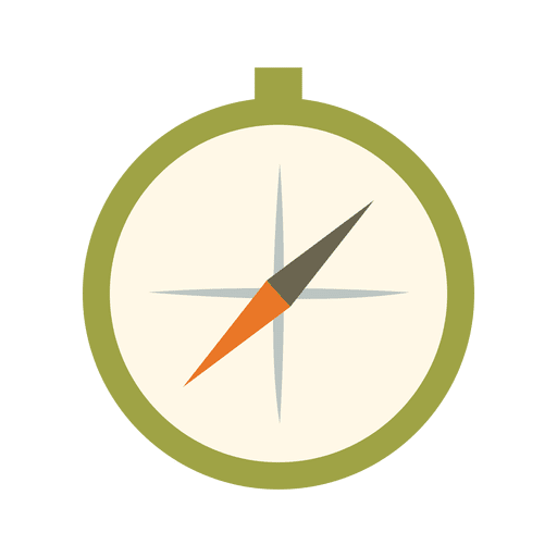 Ícone do kit de viagem bússola Transparent PNG