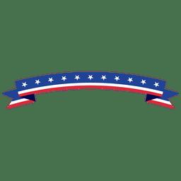cinta de EE.UU. plegado curvada