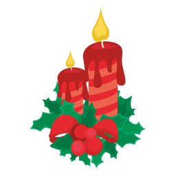 Decorative christmas candle lights