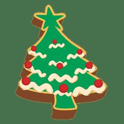 Decorativa pastrie árvore de Natal