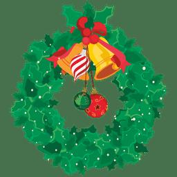 grinalda decorativa do Natal