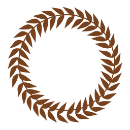 Guirnalda decorativa de hojas