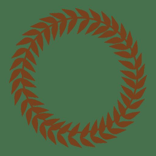 Guirnalda decorativa de hojas Transparent PNG