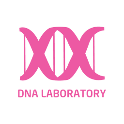 Dna laboratorio icono plana